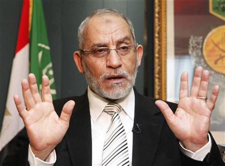د. محمد بديع المرشد العام لجماعة الاخوان المسلمين