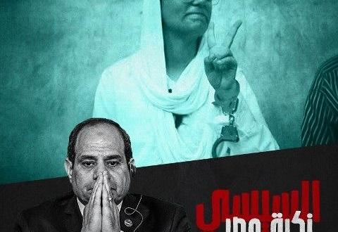 السيسي نكبة مصر
