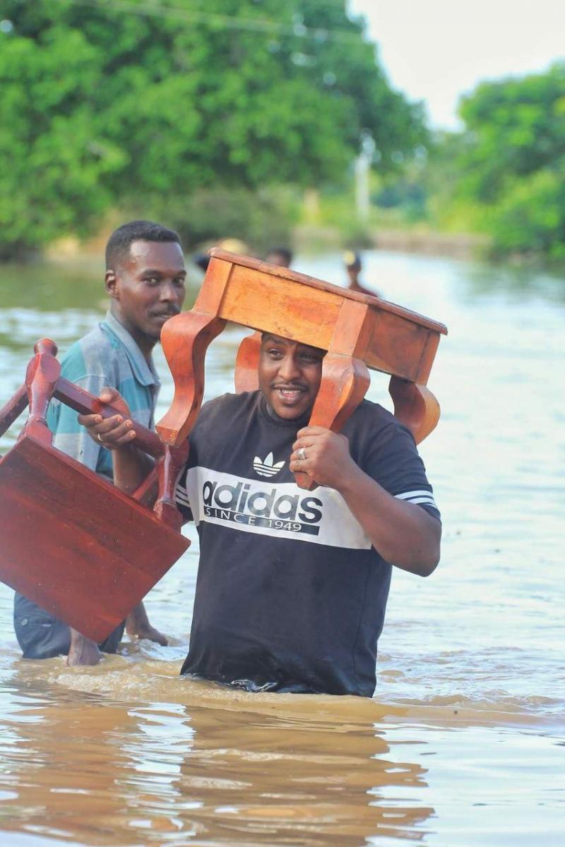 فيضانات السودان 5